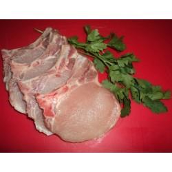 Chuletas de lomo de cerdo