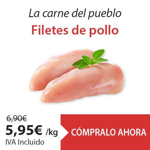 Oferta filetes de pollo